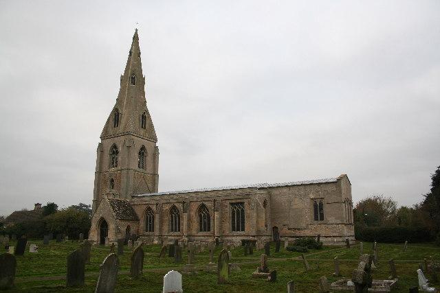 St.Peter's church, Threekingham, Lincs.