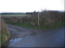 NY1137 : Bridleway to Gilcrux. by John Holmes