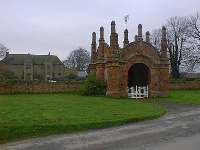 Erwarton Hall Gate