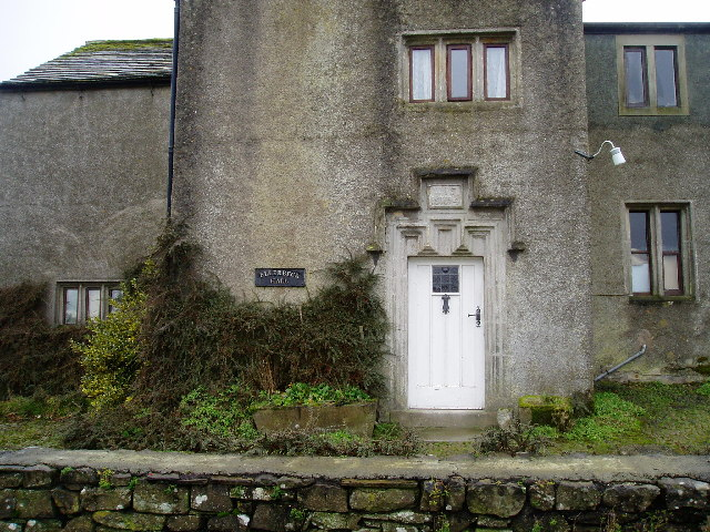 Ellerbrook Hall - dated doorway