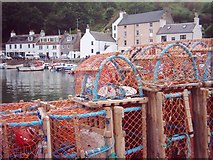 NO8785 : Lobster pots, Stonehaven harbour by Katy Walters
