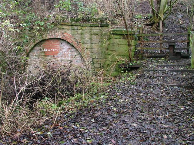 Blocked Up Tunnel Under the Stockton to Billingham Railway Line