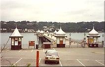 SH5873 : The entrance to Bangor Pier by Humphrey Bolton