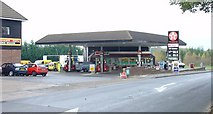 TQ1928 : Petrol Station on A281 (Brighton Road) NW of Mannings Heath, West Sussex. by Pete Chapman
