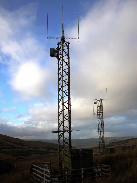 Glendaruel North Mobile Phone Towers