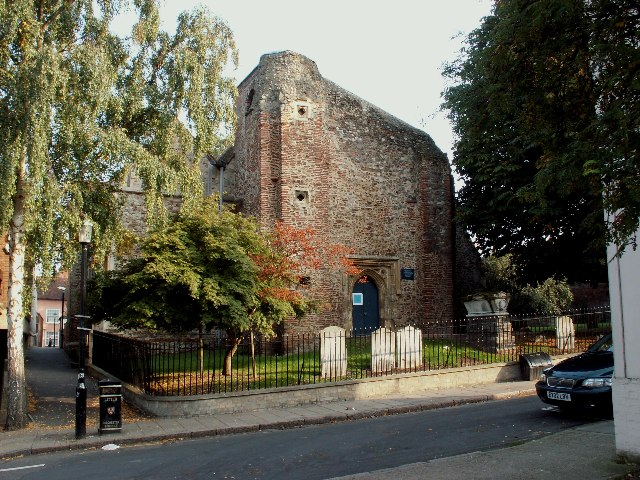 St.Martin's church, West Stockwell St., Colchester