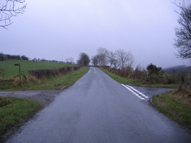 Crossroads with Bridleway