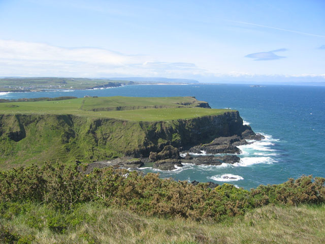 Headland west of Giant's Causeway