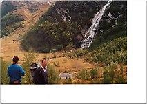 NN1768 : Steall waterfall by John Naisbitt