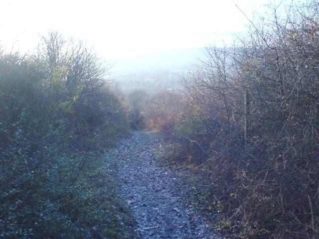 The North Downs Way, near Otford