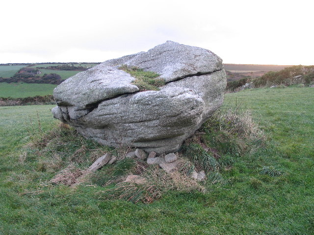 Tom Thumb rock St. Just-in-Penwith