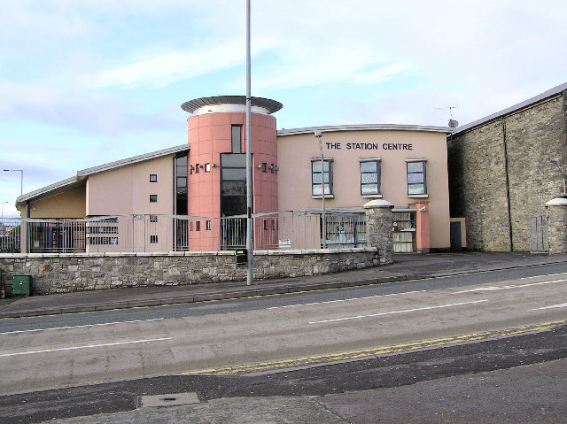 The Station Centre, Omagh by Kenneth  Allen