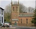 NY0406 : St Bridget's Church, Calder Bridge, St Bridget Beckermet CP, from the SW by Humphrey Bolton