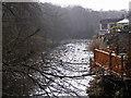 NY0405 : River Calder at Calder Bridge by Humphrey Bolton