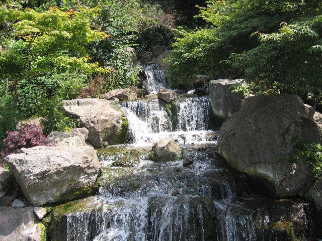 Fountain in the Kyoto Garden, Holland Park, Kensington
