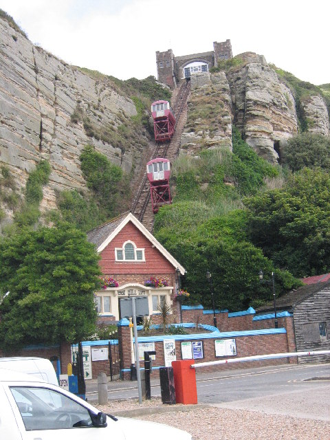 Funicular Railway, Hastings, East Sussex