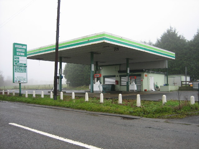 Disused Petrol Station and Grocery