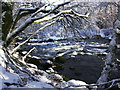 NH3101 : The River Garry by Claire Pegrum