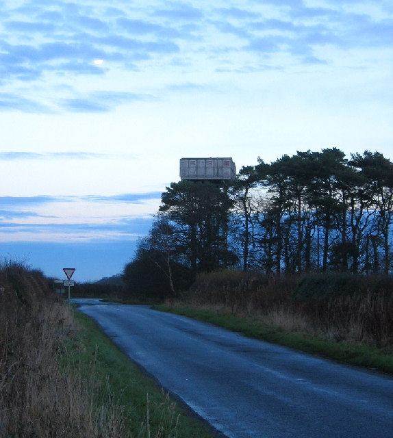 Water Tower on the road to Tranwell