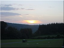 SO5513 : Sunset over Highmeadow Woods by Penny Mayes