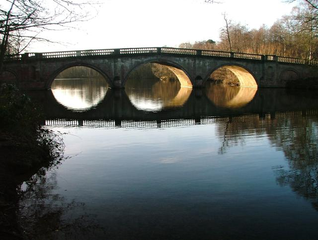 Clumber Bridge From the East