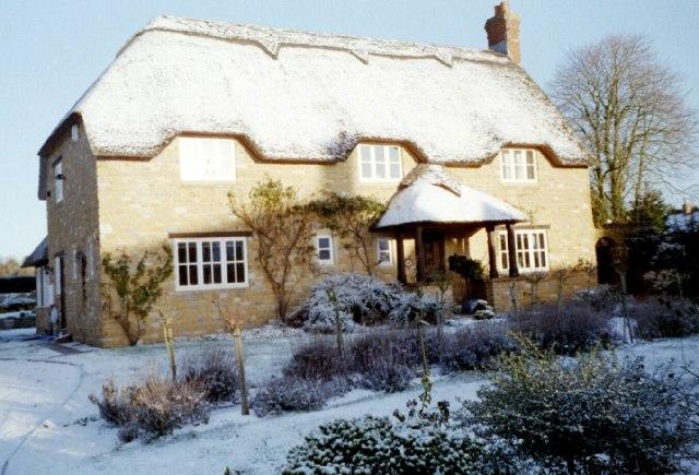 A Lopen house in winter