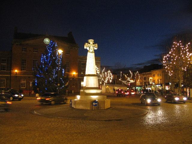 Christmas Lights Taunton Phil Williams Cc By Sa 2 0