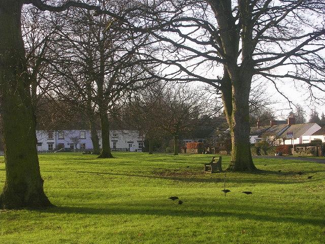 Village green, Piercebridge, County Durham