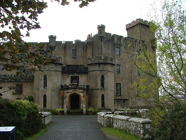 Dunvegan Castle - The front door