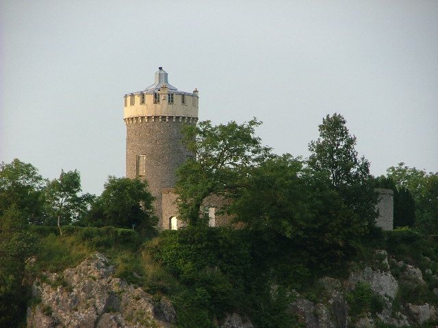 Observatory Tower by the Clifton Suspension Bridge