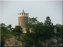 ST5673 : Observatory Tower by the Clifton Suspension Bridge by Dave Napier