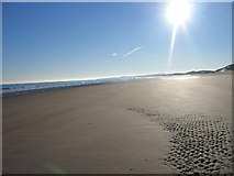 NZ2796 : Druridge Bay by Les Hull