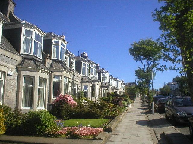 Granite Houses on Belvidere Street