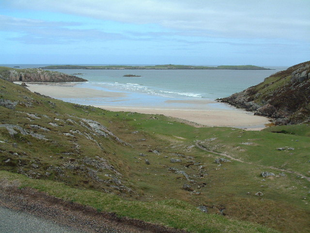 The sands of Traigh Allt Chailleag by James Allan