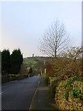 SE1614 : Lumb Lane Almondbury by Sue Trescott