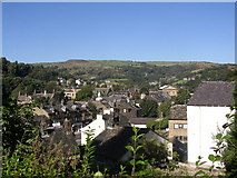 SD9323 : View from former Unitarian Church, Todmorden by Humphrey Bolton