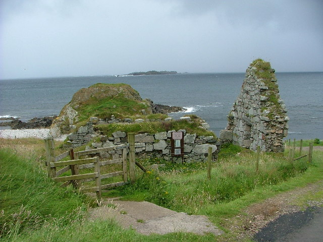 Ruined church at Malin