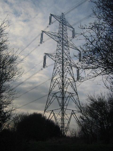 Pylon on Lolleywood Lane