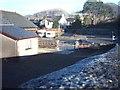 SH7041 : Plot where Capel Bethel used to be, Llan Ffestiniog, 10.23am by Barry Hunter