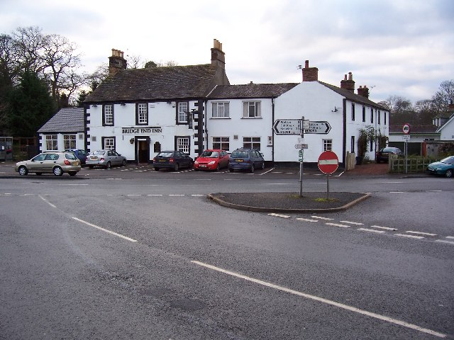 The Bridge End Inn.