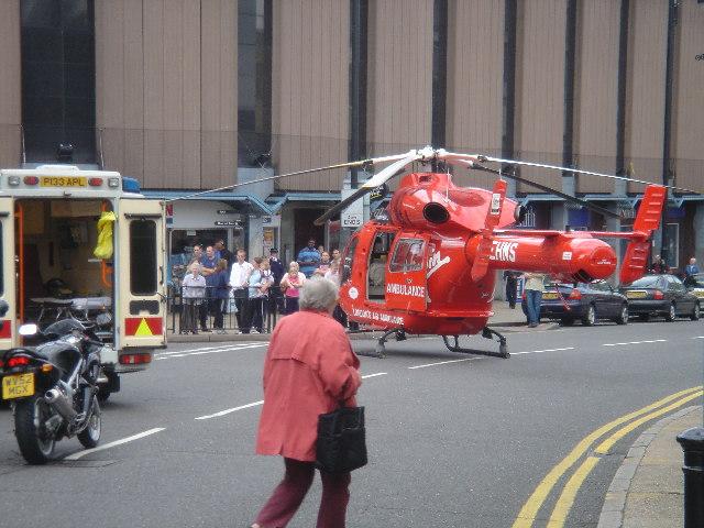 Belmont Road Uxbridge - Air Ambulance