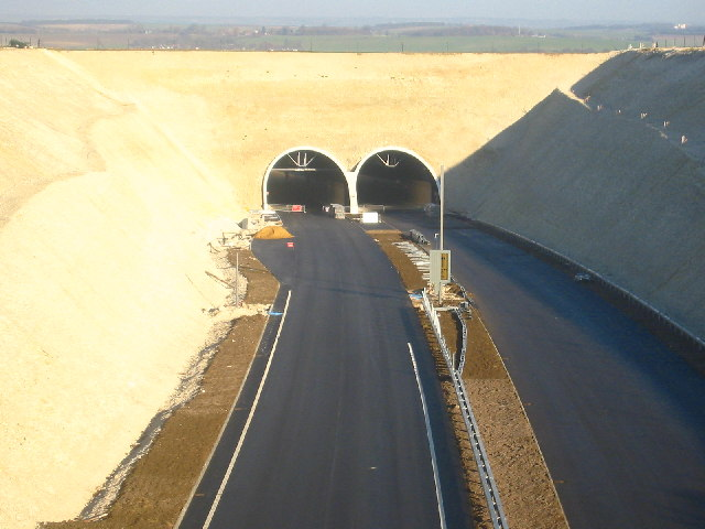 Baldock Bypass Tunnel nearing completion