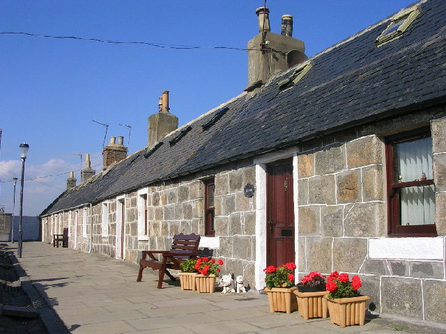 Cottages at Footdee