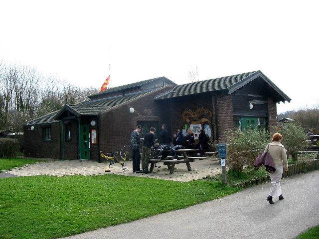 Visitor Centre of Plessey Woods Country Park