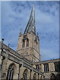 SK3871 : The crooked spire at Chesterfield by Dave and Carolyn Sawyer