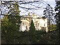 NS6656 : Crossbasket Castle Shrouded in Trees by Iain Thompson