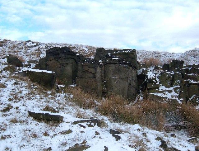 Joiner Stones, Rishworth Moor