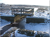 SD9620 : Channel between Light Hazzles and Warland Reservoirs. by Steve Partridge