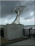 SD3317 : The Marine Way Bridge by Peter Hodge