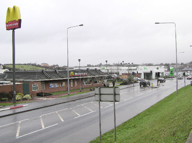 McDonald's and ASDA by Kenneth  Allen